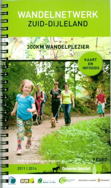 Wandelnetwerk Zuid-Dijleland: kaart + infogids