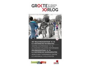 Historische fietsroutes Groote Oorlog in Vlaams-Brabant