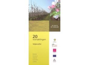 Wandelboek met 20 wandelingen in de Velpevallei